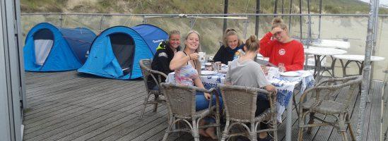 Hobie jeugdweek op Zee(land)