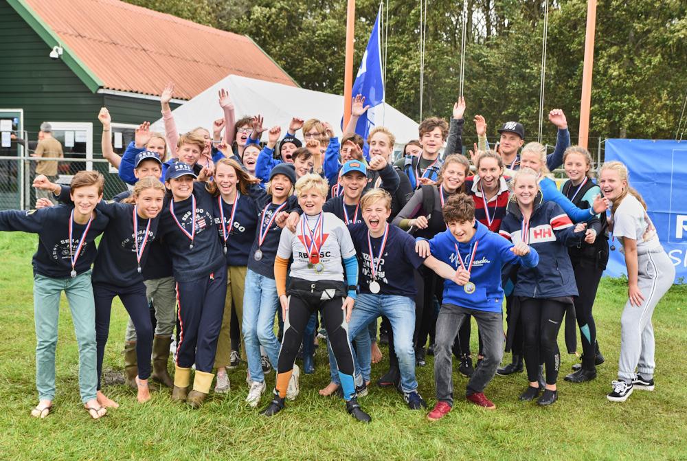 Groepsfoto Dutch Dragoon Cup vorig jaar